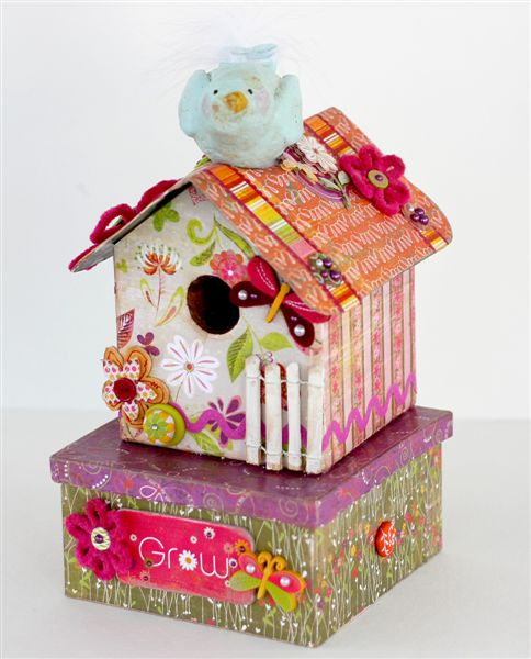 BG Green at Heart birdhouse