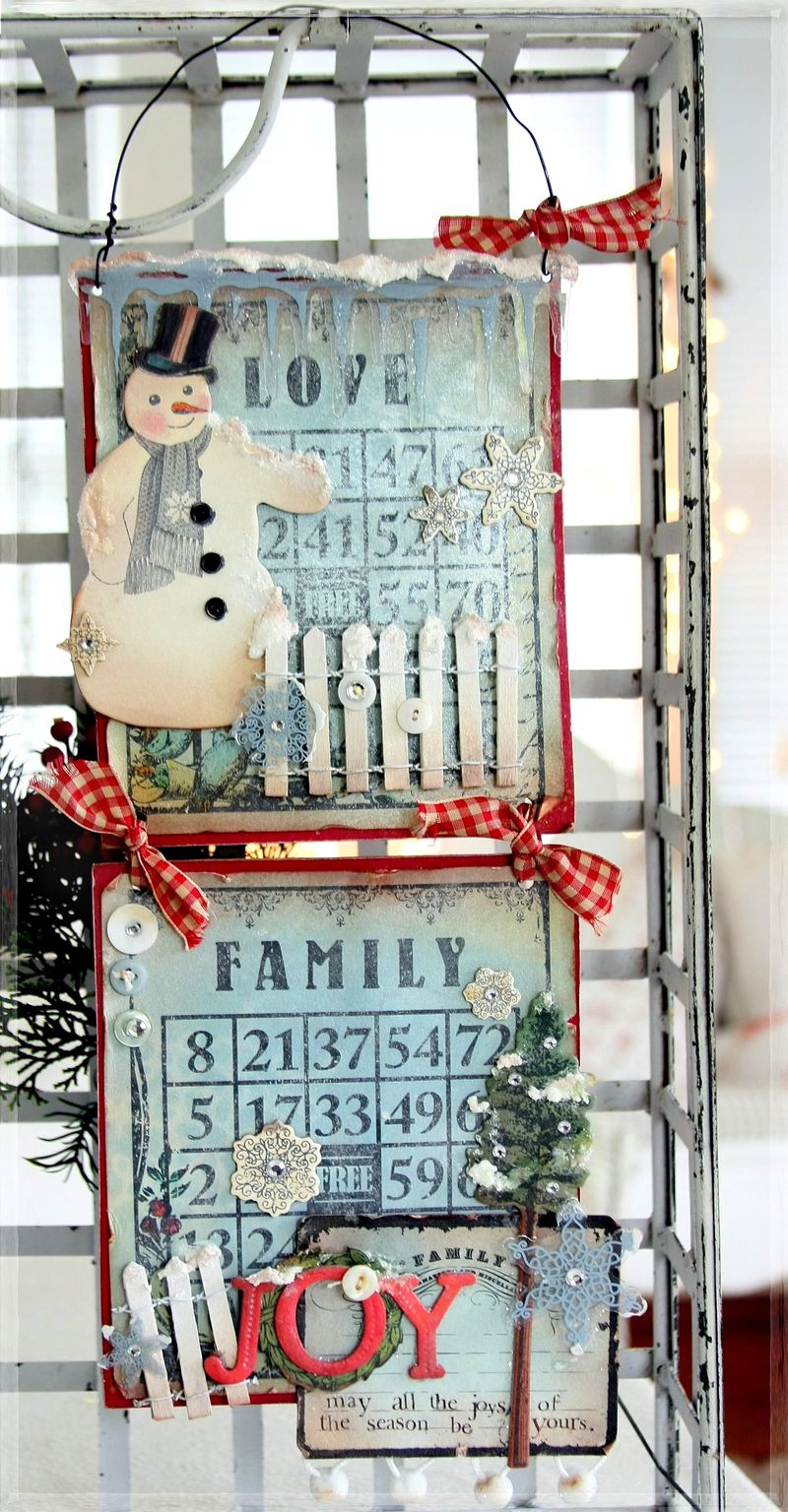 Snowman wall decor 09
